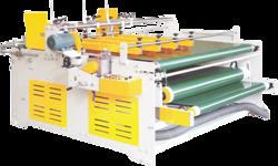 Semi Automatic Corrugated Box Flap Gluing Machine