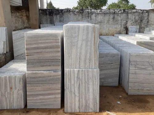White Marble Makrana Kumari Tile, Shape: Rectangle