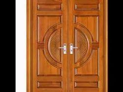 Teak Wood Double Doors