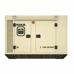 25 KVA Kohler Diesel Generator, 3 Phase