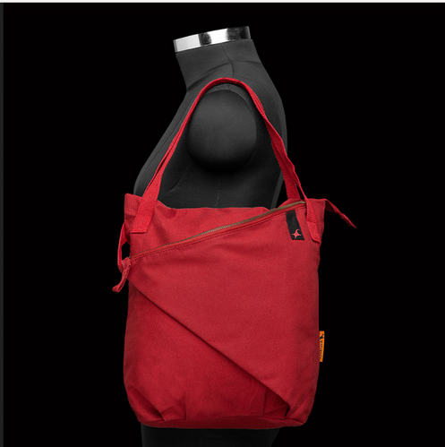 A0323crd01ab Fastrack Women Canvas Red Bag