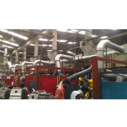 Fumes Extraction Systems For Robotic Welding Line