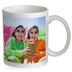 Multicolor Ceramic Sublimation Printed Coffee Mug, For Home, Capacity: 300ml