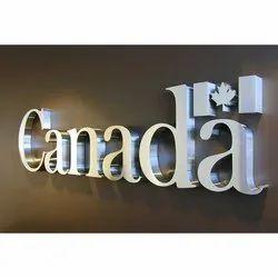 Steel LED Letter Sign Board
