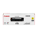 Canon 418 Yellow Toner Cartridge
