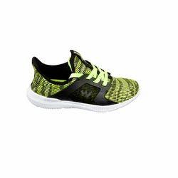 Wildcraft Unisex Travel Shoes Dinara - Lime Black