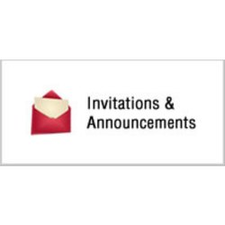 Invitations & Announcements Services