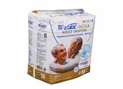 Wetex Nova Adult Diaper M (10 Pcs Pack), For 31-44 Inch