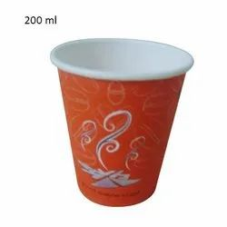 200ml Printed Cold Drink Paper Cup, For Event And Party Supplies