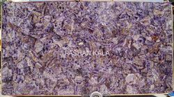 Amethyst Stone Dining Table Top