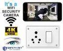 4k Wifi 3-in-1 6/16 Amp Switch Socket Combined Camera