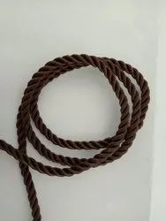Braided Cotton Polyester Handle Rope without Tipping