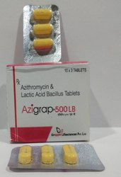 Azithromycin 500 Mg With Lactic Acid Bacillus