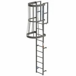 Silver Panel Fire Escapes, Mounting Type: Wall