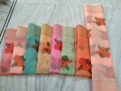 Supernet Kota Cotton Printed Sarees