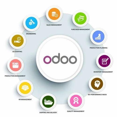 Odoo Open Source ERP Business Solution, Warranty: 1 Year
