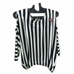 3/4th Sleeve Striped Ladies Designer Top