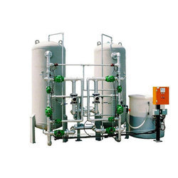 Stainless Steel Automatic Water Softening Plant, Electric
