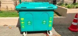 Sintex Garbage Bin 4 Wheels 630 Ltr