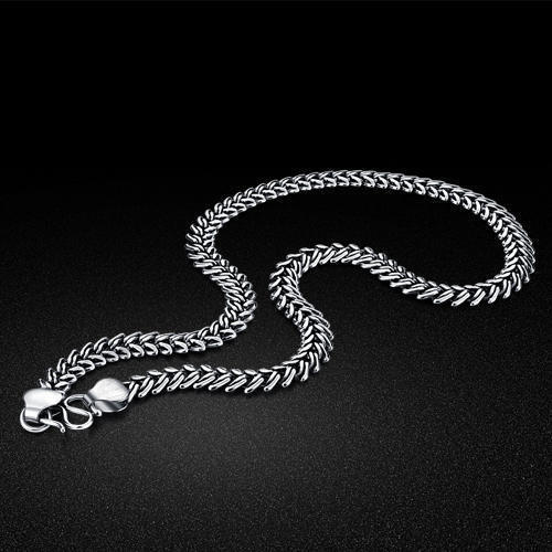 enchanted products silver sterling forest jewellery the chain necklace