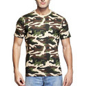 Large and XL Clifton Men's Army T-Shirt