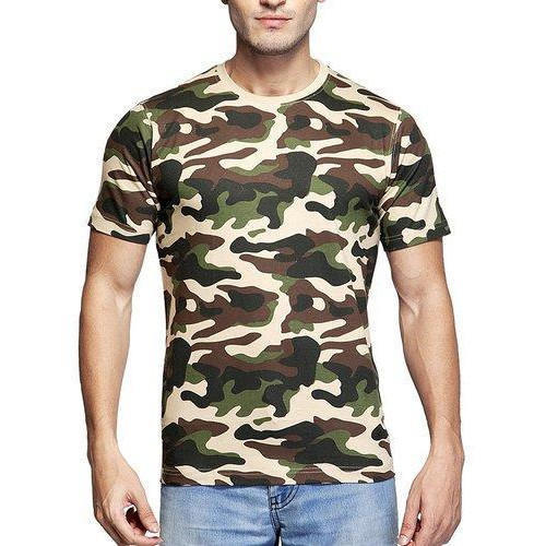 Large and XL Clifton Men  s Army T-Shirt 15afd92687fd