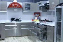 Modular Kitchen, Work Provided: Wood Work & Furniture, Warranty: 1-5 Years