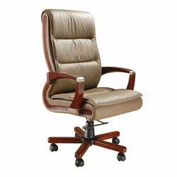 Creamy Executive Revolving Chair