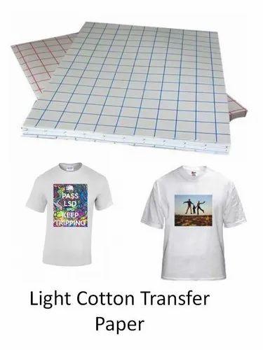 Cotton T Shirt Transfer Paper