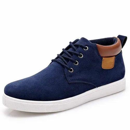 Retro Walk Blue Stylish Men Casual