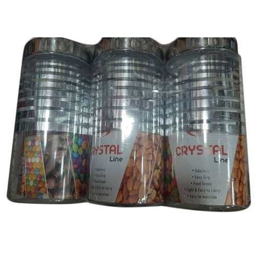 Silver Stainless Steel SS Container, For Kitchen, Capacity: 1.5 L