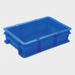 Hdpe Plastic Storage Crates, Size: 300*200*100 Mm