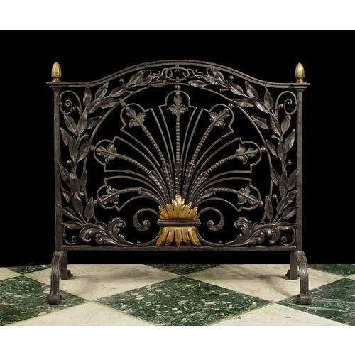Surprising Vintage Fireplace Screens Beutiful Home Inspiration Ommitmahrainfo