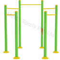 Metco Circular Pull Up Station, Outdoor Gym Equipment