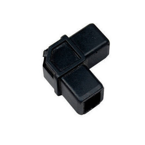N-Rack Black Plastic L Joint Connector