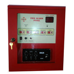 Addressable Fire Alarm Panel With PA system