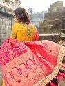 Designer Bridal Wedding Wear Silk Lehenga Choli