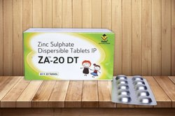 Zinc Sulphate 20 Mg (Dispersible)