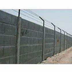 Prefab Trilok Concrete Compound Wall