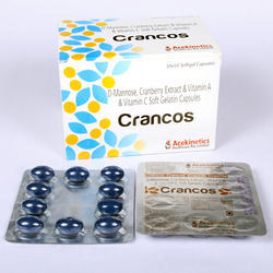 D-Mannose & Vitamin C Capsule