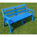 Blue Slopper Counter Bench