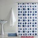 Hand Block Printed Cotton Curtain