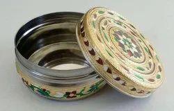 Meenakari Decorative Tiffin Box For Return Gifts