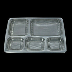 5 Compartment  PP Meal Tray