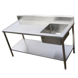 Stainless Steel Single Bowl Sink, For Hotel, Restaurant