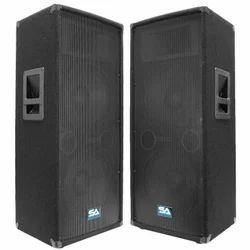 2.0 Black Audio Speaker, Model Number/Name: SA-100T