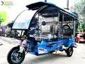 E Kranti Plus E- Rickshaw, Battery Capacity: >80 Ah