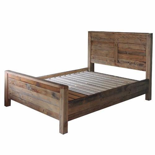 Brown Solid Wood Bed, Rs 10000 /piece, RJM Furniture And Wood Works ...
