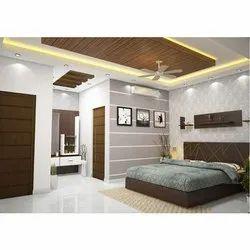 Gypsum Modular Bedroom Interior Designing Service