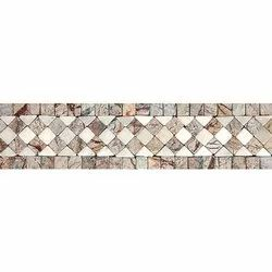 Capstona Diamond Square B.W. Borders Tiles